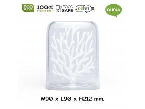 33713 zasobnik qualy coral container cerveny