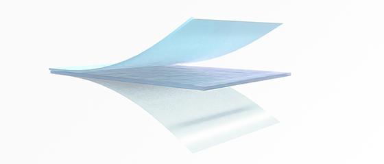 Technológia našich hydrogélových 3D náplastí