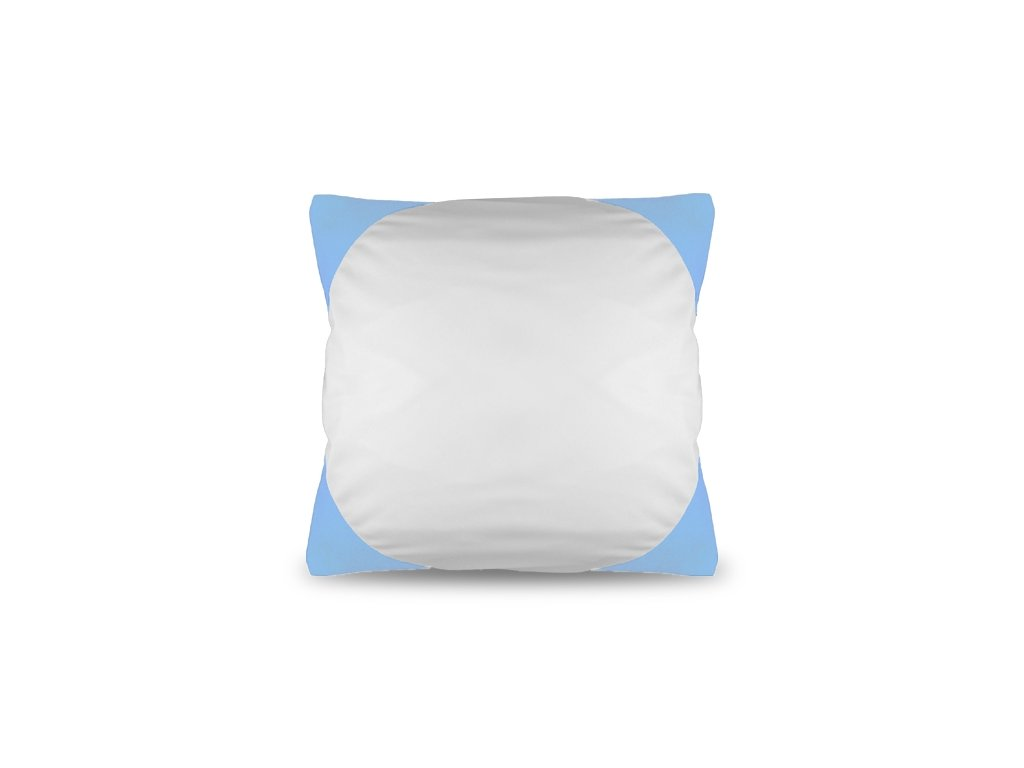 Polštář FUNKY, světle modrý  40x40 cm