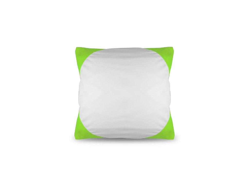 Polštář FUNKY, světle zelený 40x40 cm