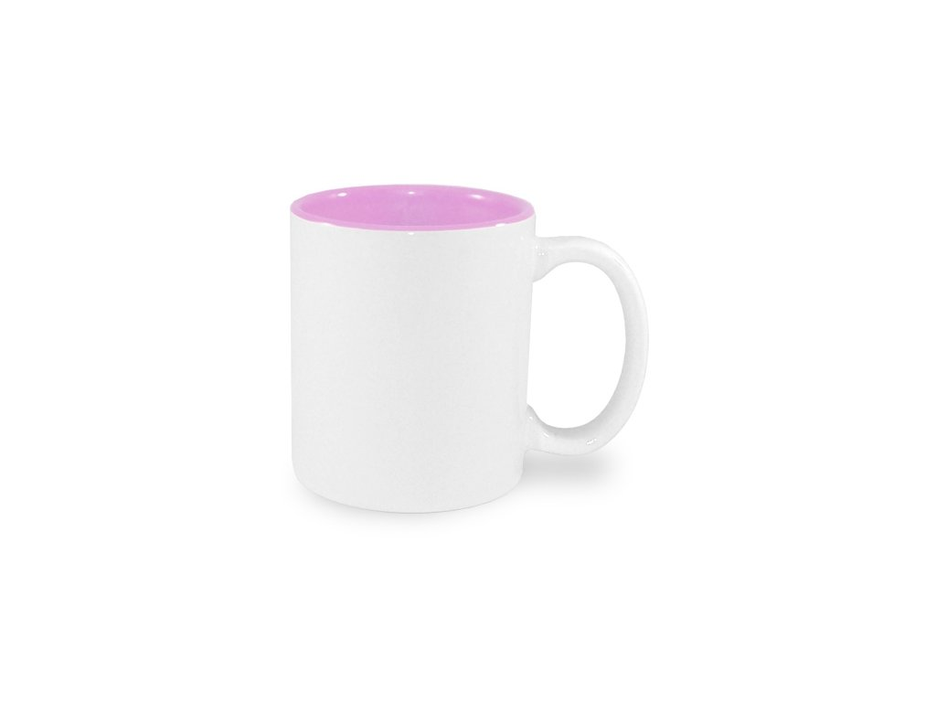 Hrnek s růžovým vnitřkem 0,33 l