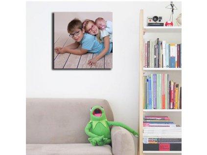 Čtvercový obraz na plátně, barevný - NaPlatne.cz