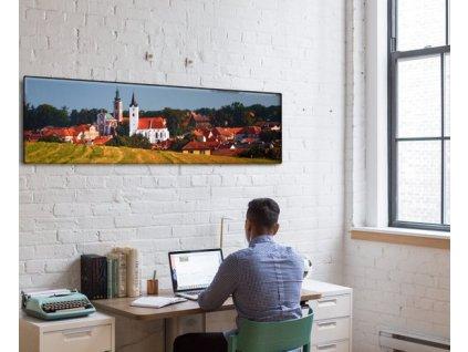 Panoramatický fotoobraz na plátně, barevný - NaPlatne.cz