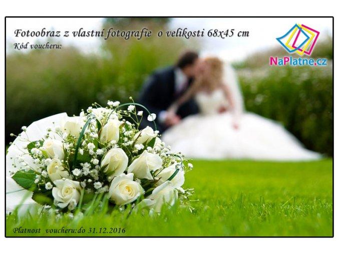 Dárkový poukaz pro novomanžele