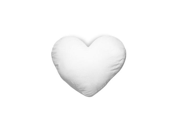 Povlak na polštář, srdce, 40x35 satén