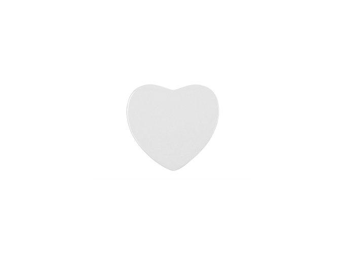 Keramický magnet srdce 6,8x6,5 cm