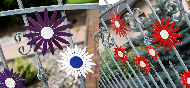 Naplotík - ozdoby na plot