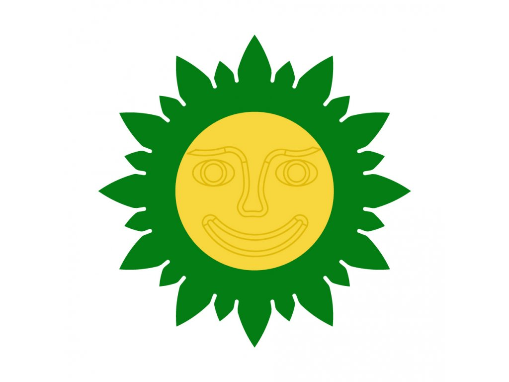 zelena zluta tvar