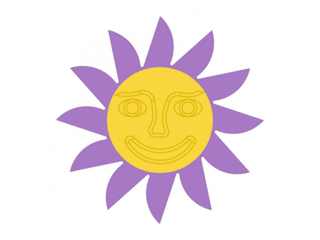 fialova zluta tvar