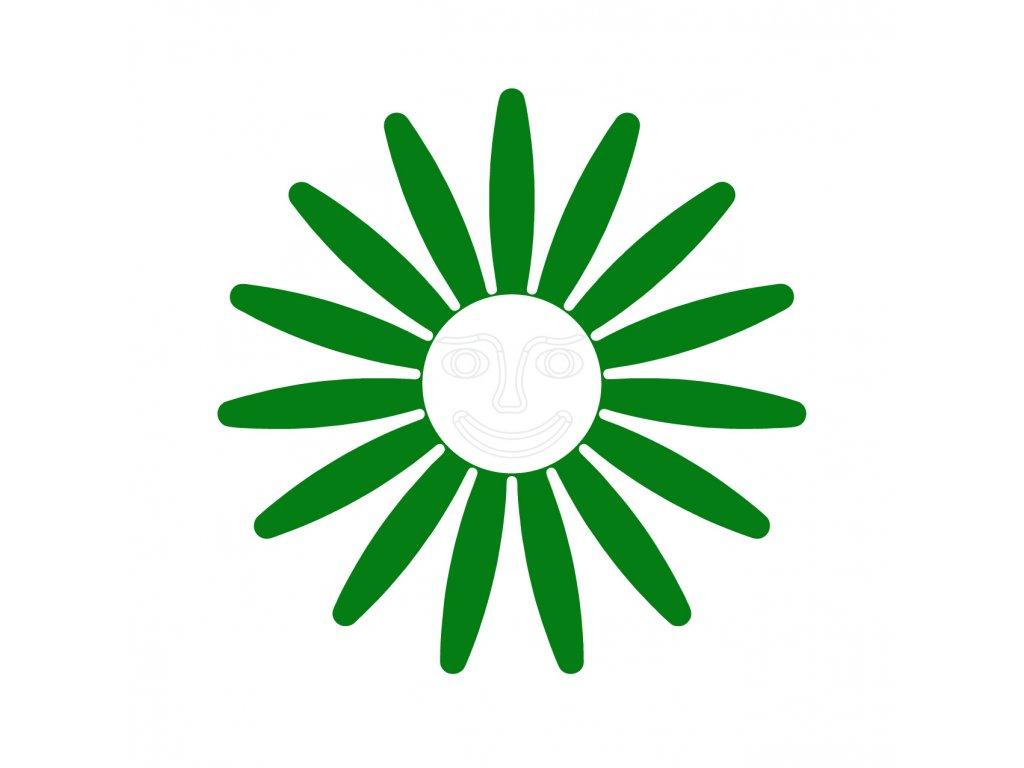 zelena bila tvar