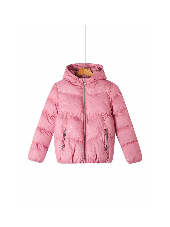 Dívčí prošívaná bunda se srdíčky GMA-2553 - více barev