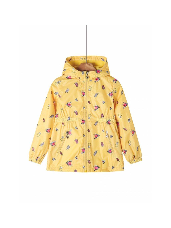 Dívčí bunda větrovka GFY-2612 žlutá