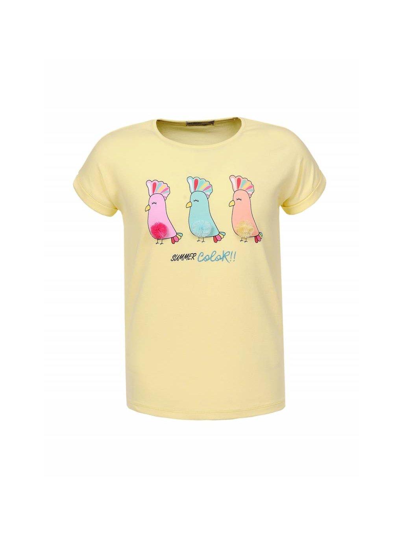 Dívčí triko GPO-0474 Papoušci - více barev .