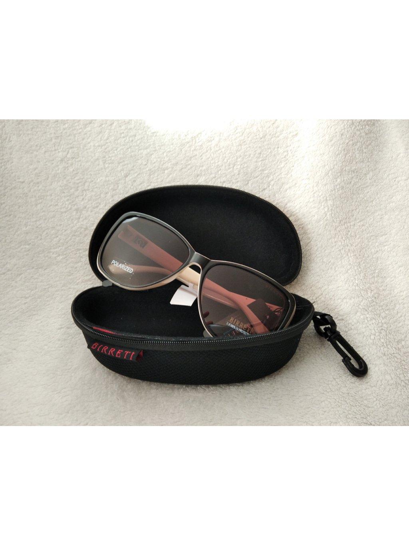 Pouzdro na brýle - hrubé - černá