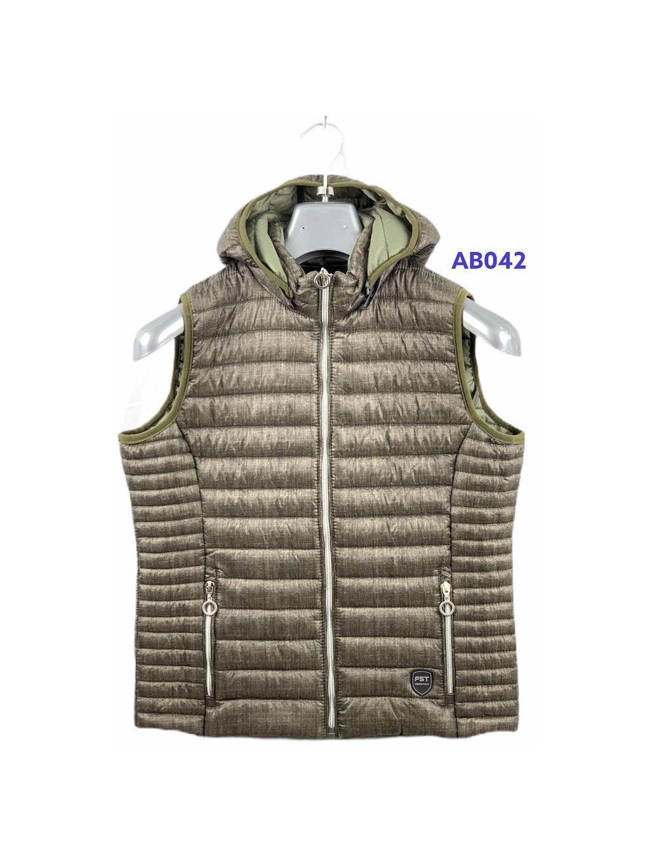 Dámská prošívaná vesta AB-042 (S-2XL)