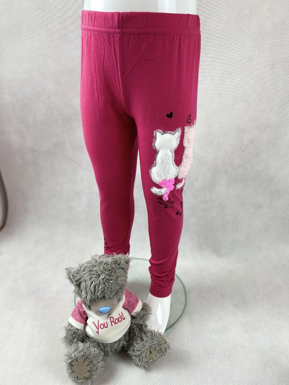 Dívčí legíny s kočkami G-52321 - výběr barev