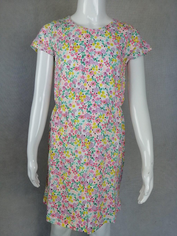 Dívčí šaty GYQ-0528 s barevnými kvítky