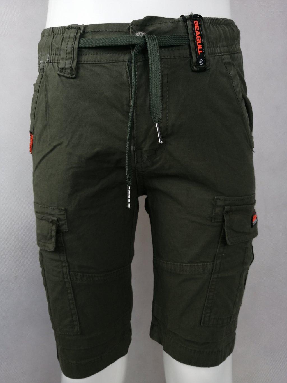 Moderní chlapecké kraťasy B 82104 s kapsou, na gumu