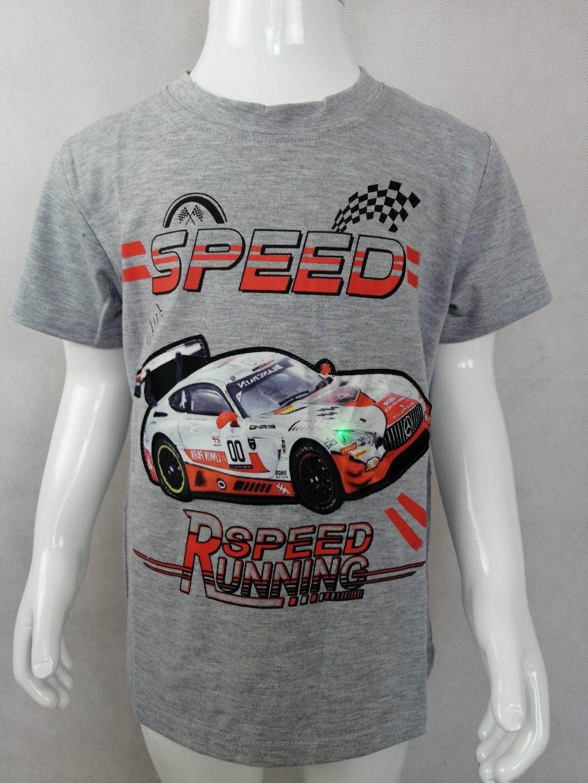 Chlapecké tričko B 52696 Speed - blikající