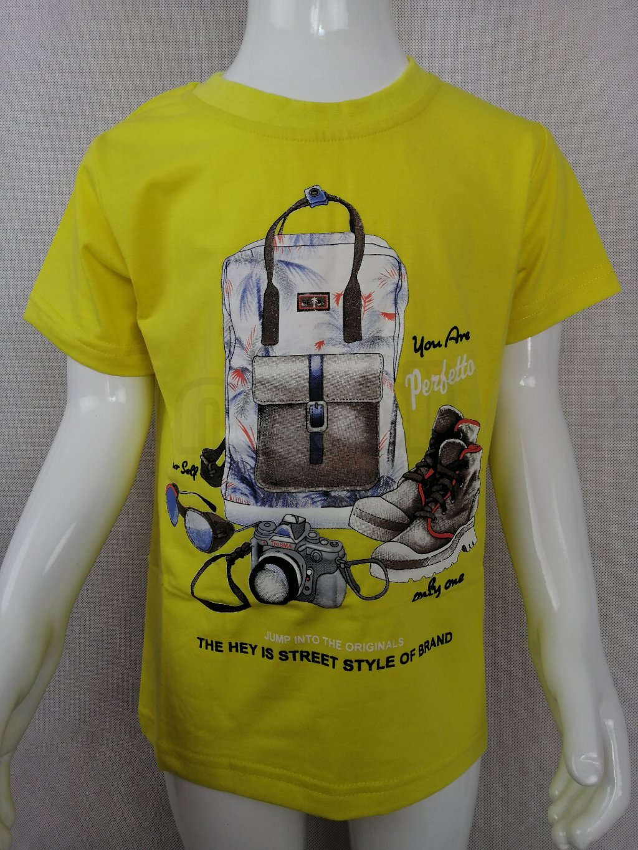 Chlapecké tričko B 11001 s potiskem Street Style