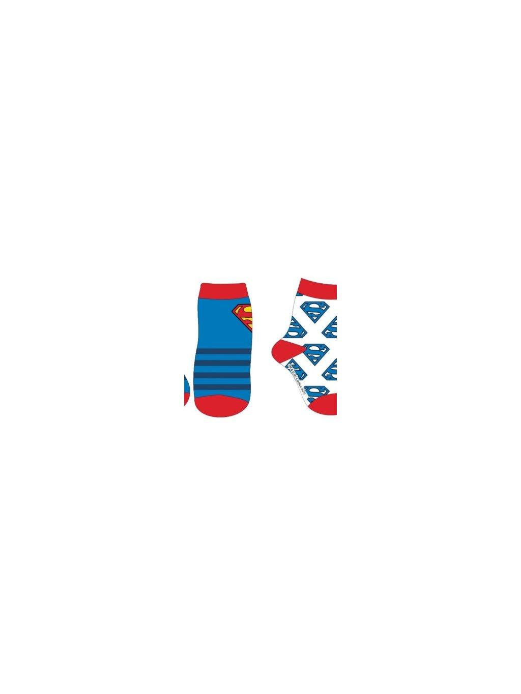 Dětské ponožky SUP 51 34 233 SUPERMAN 2 ks.