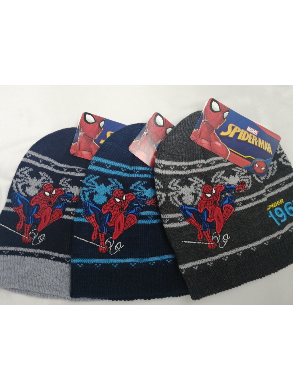 Zimní čepice 0360 Marvel Spider-Man