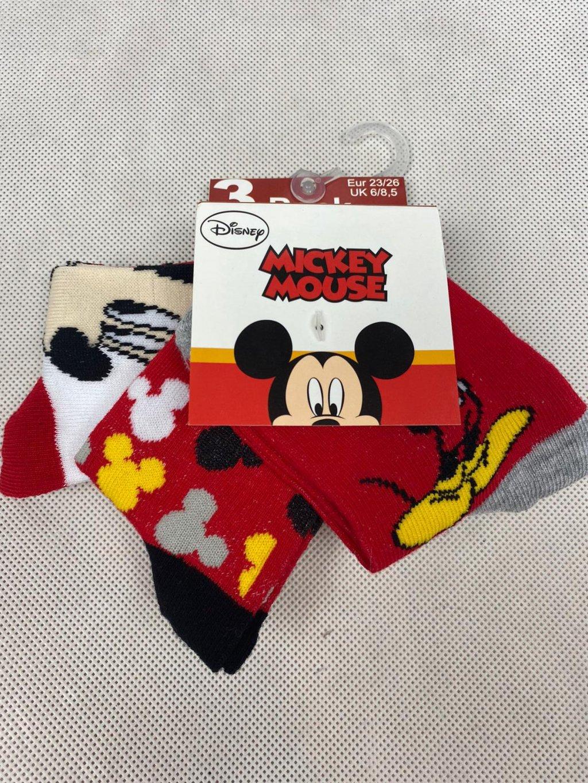 Dětské ponožky UE0630 Disney Miskey 3 ks.