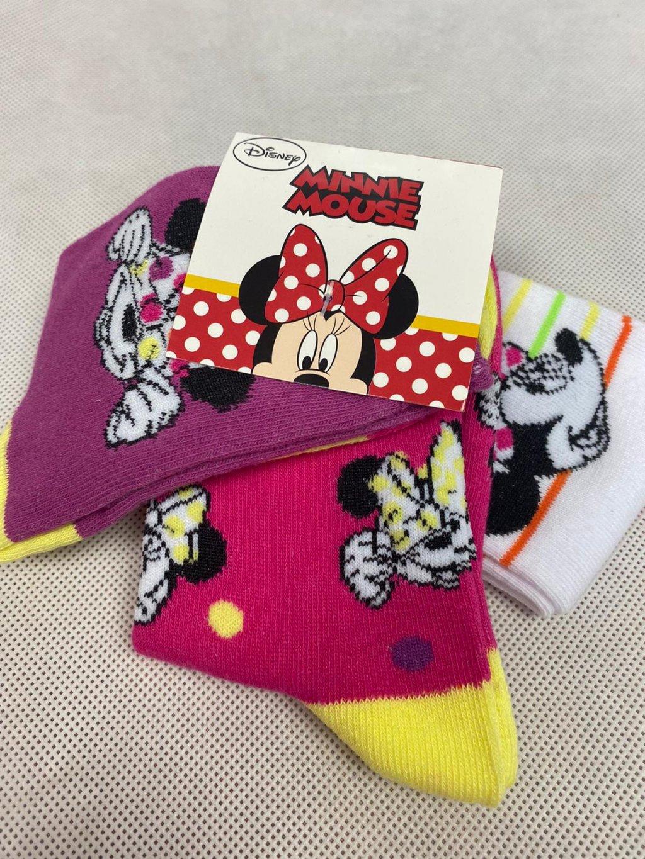 Dětské ponožky UE0605 Disney Minnie 3 ks.