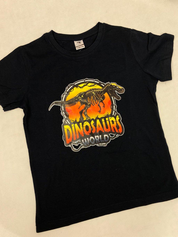 Tričko BPO-P2160 Dinosaurs Wold