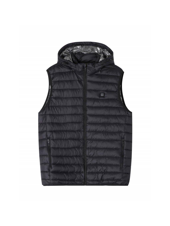 Pánská vesta MMJ-2538 vyhřívaná s kapucí - nadměrná velikost