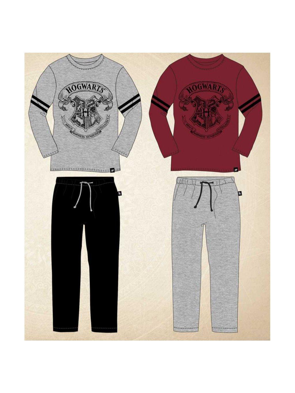 Chlapecká souprava 833-437 Hogwarts tričko a tepláky