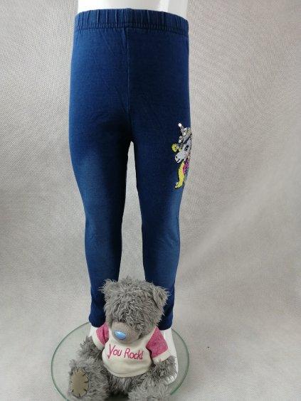 Dívčí jeans legíny G-52669  - jednorožec