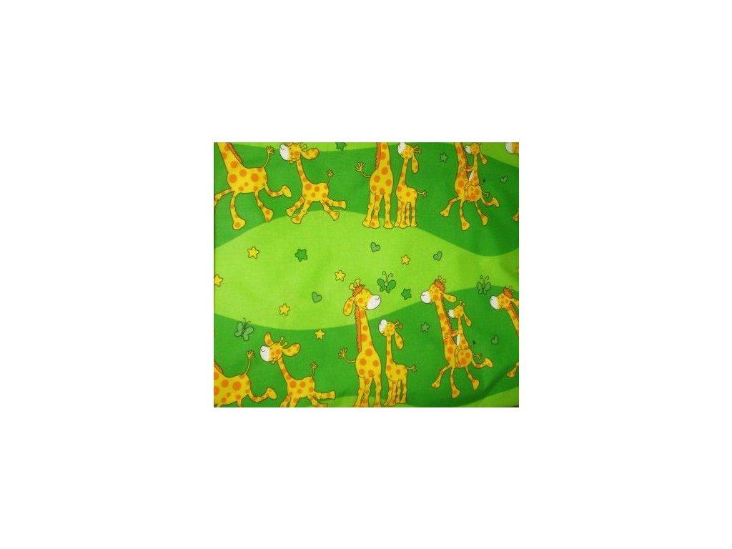 metraz detska zirafky zelene 250
