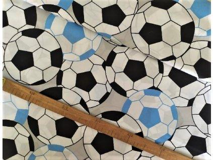 metraz bavlnene platno fotbalove mice