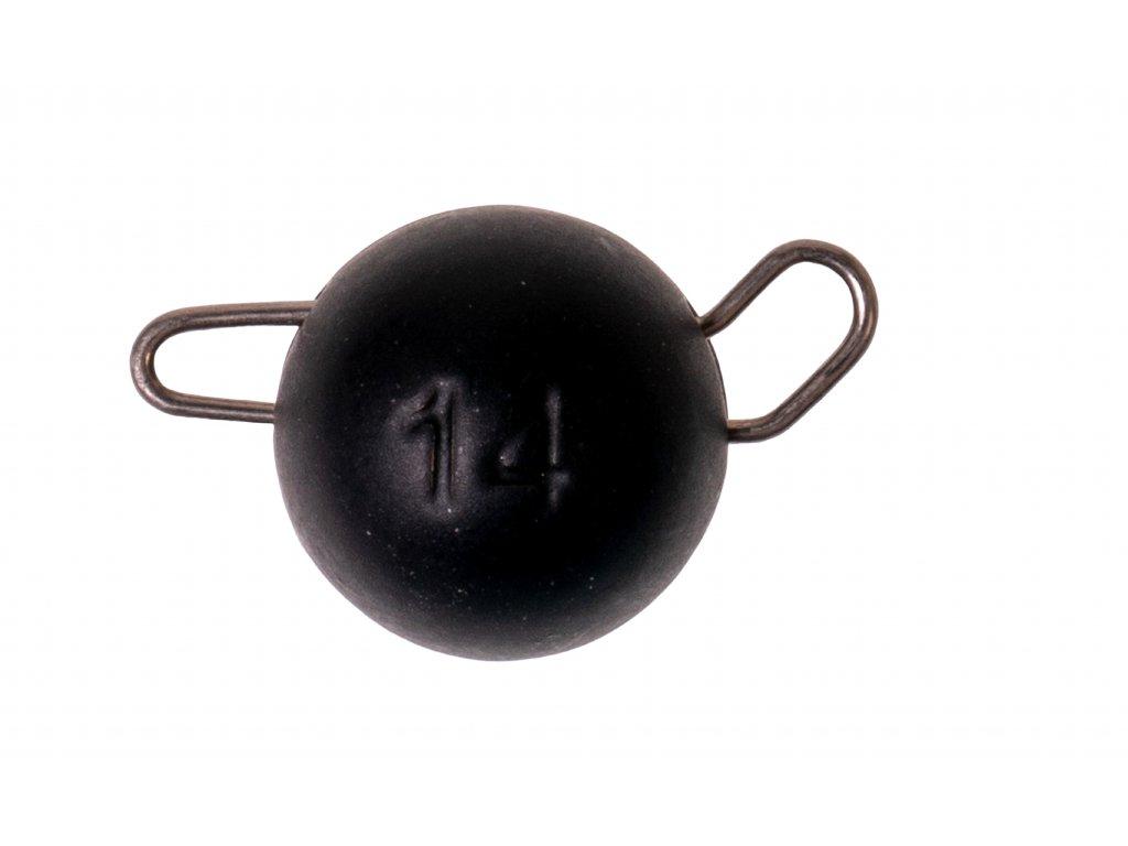 ZECK Tungsten Cheburashka Head Black 10g |2 pcs