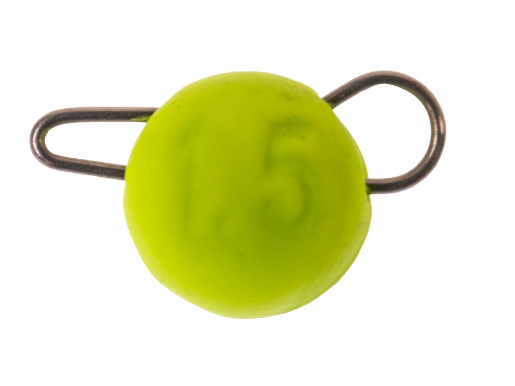 ZECK Tungsten Cheburashka Head Yellow 3g |2 pcs