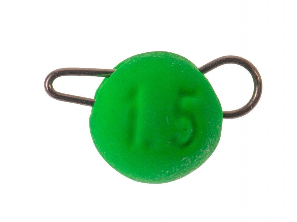 Tungsten cheburaska head grün jpg