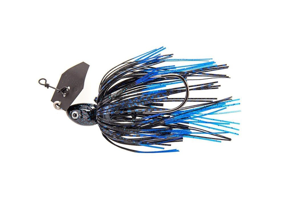 21g project z chatterbait black blue
