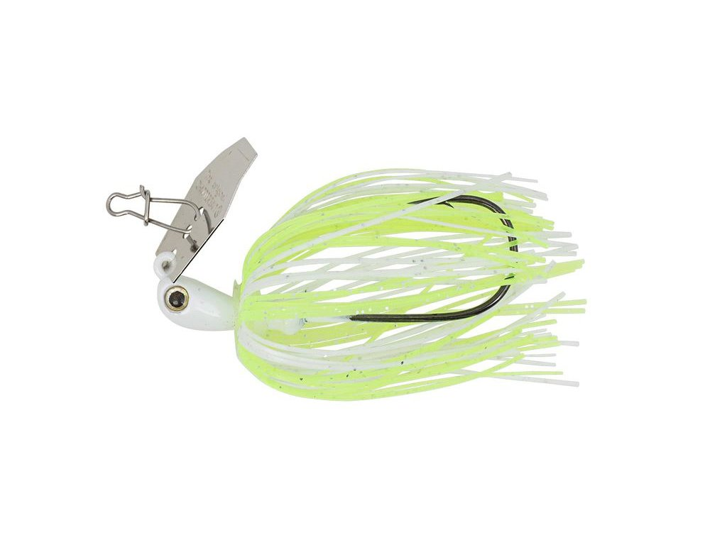 35g chatterbait micro chartreuse white