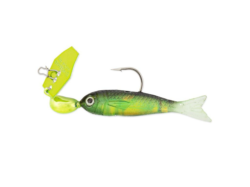 35g chatterbait flashback mini chartreuse rainbow