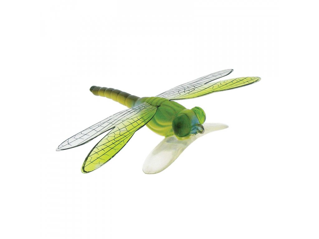 imitace vážky - River2Sea Dragonfly Popper (Green Brown )