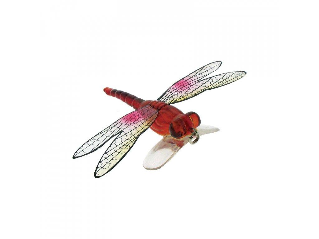 imitace vážky - River2Sea Dragonfly Popper (RED)