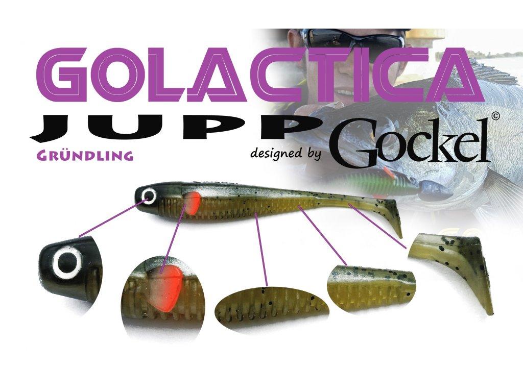 Gumová nástraha - JUPP Golactica (Grundling) - 125mm