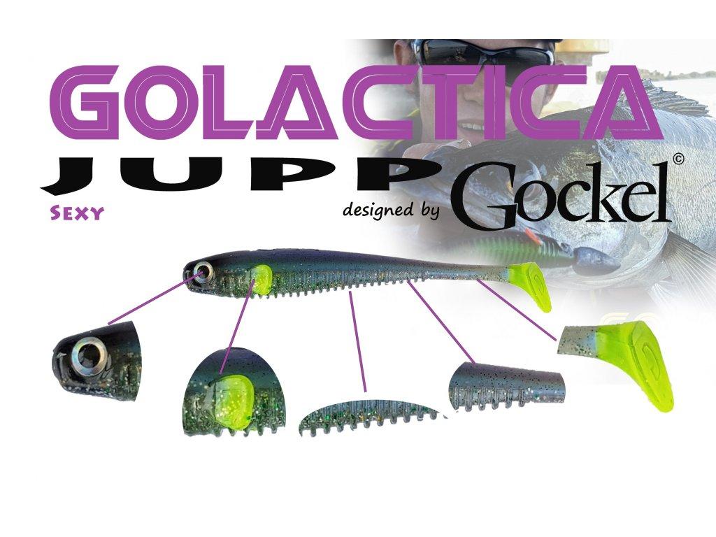 Gumová nástraha - JUPP Golactica (Sexy) – 125mm