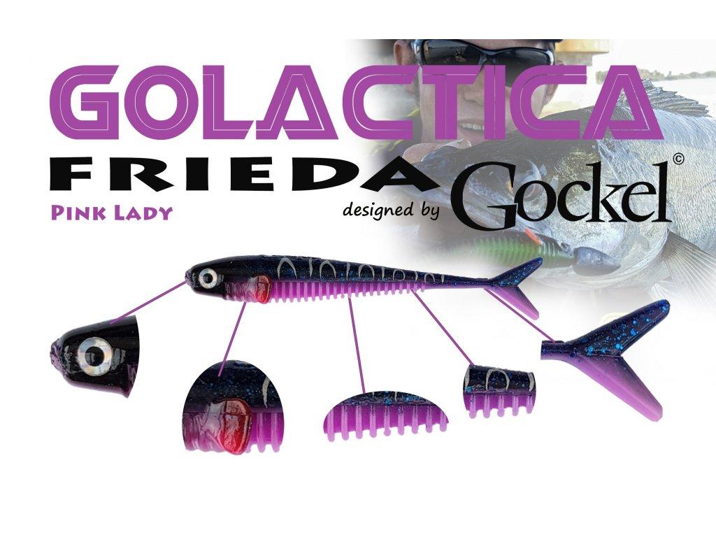 Gumová nástraha - FRIEDA Golactica (PinkLady) – 110mm