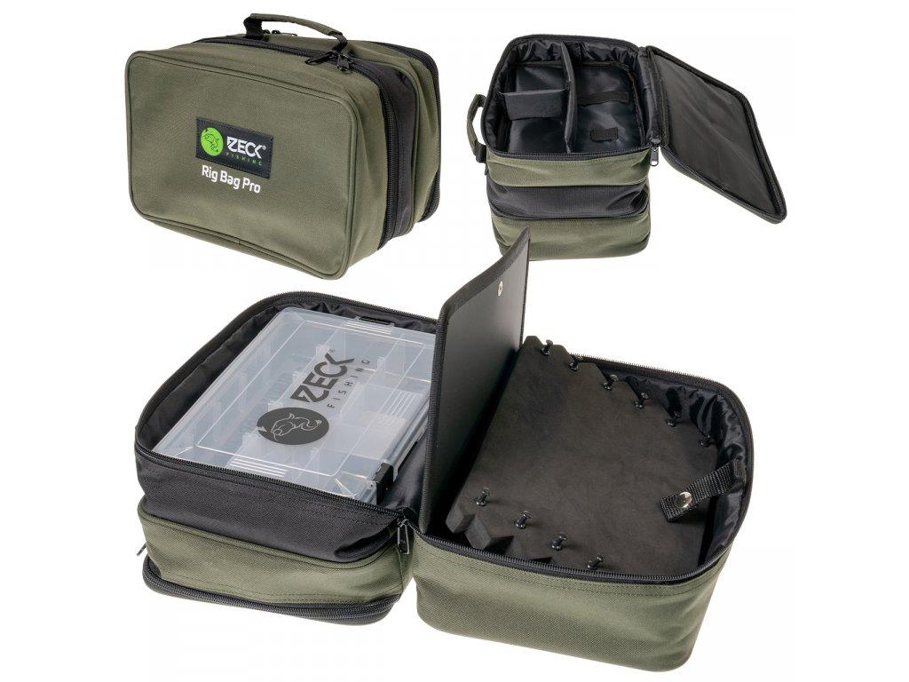 zeck fishing rig bag pro 160032