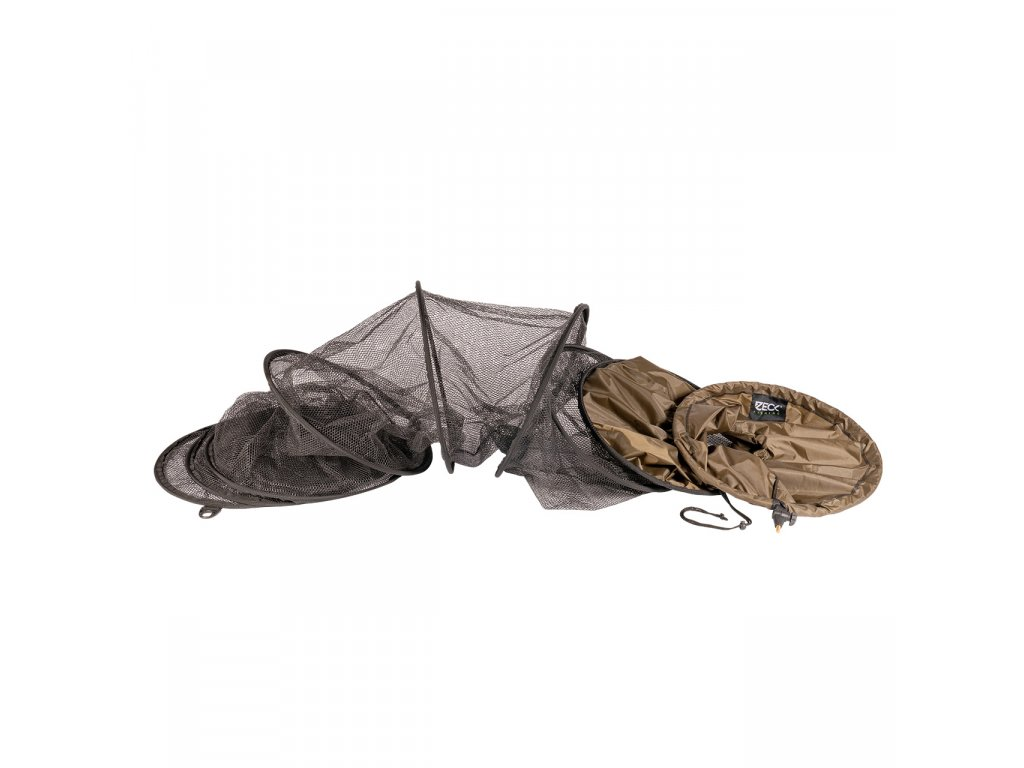 zeck fishing saftey rubber keepnet 180350