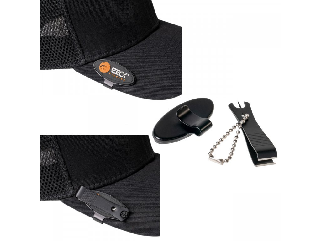 zeck fishing hat clip nipper 260030 comp NEW