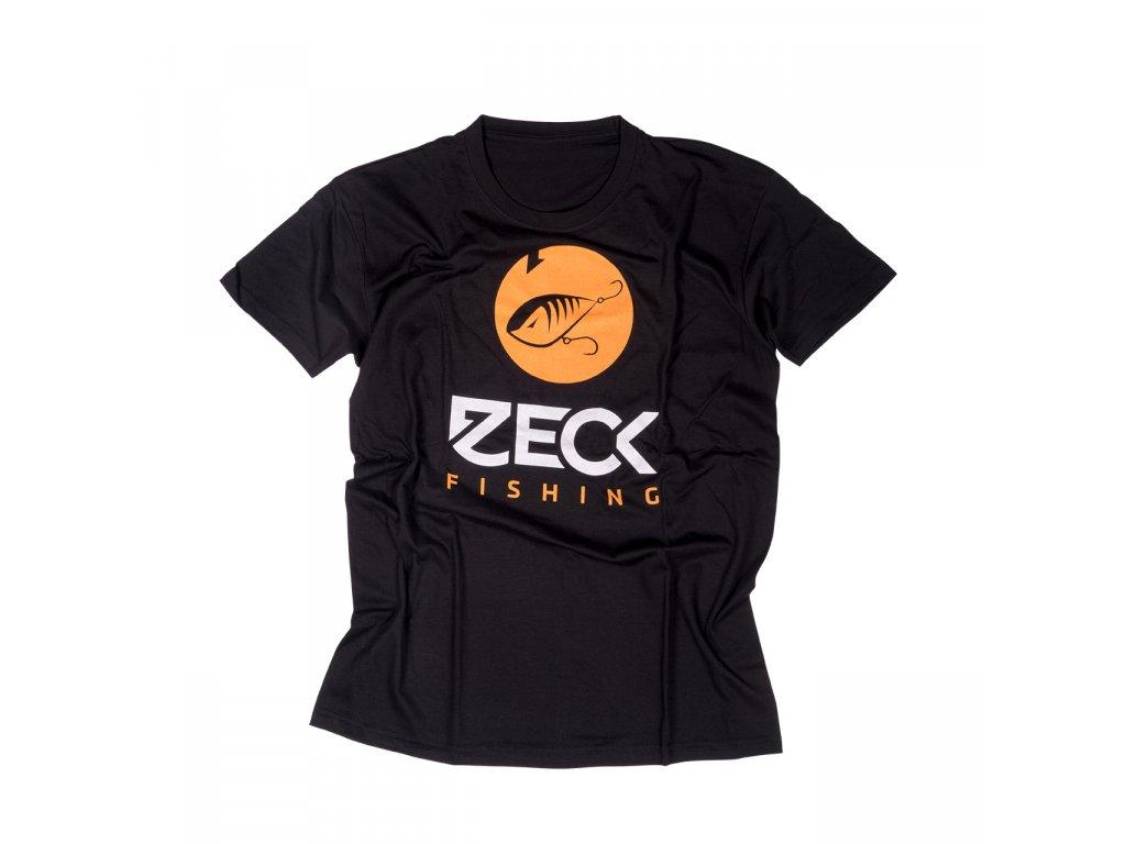 Přívlačové triko - ZECK T-Shirt Predator Black