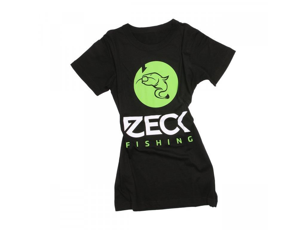 zeck fishing girlie shirt black catfish 170310